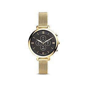 Fossil FTW7038 Hybrid HR Monroe Gold-Tone Stainless Steel Women's Smartwatch