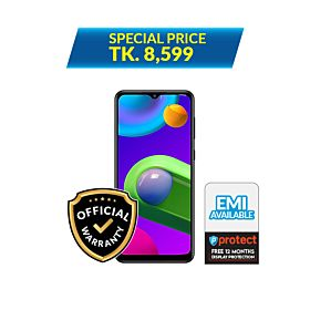 Samsung Galaxy M02 2GB/32GB With Free 12 Months P-Protect - Screen Damage Coverage