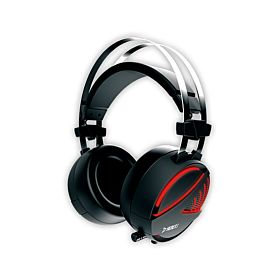 Gamdias Hebe E1 Gaming Headset with USB/3.5mm Jack, 40mm Drivers, In-line Remote and RGB Lighting