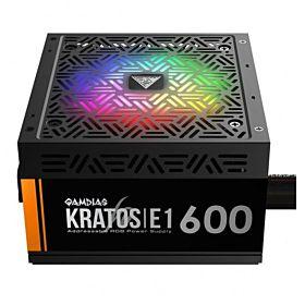 Gamdias KRATOS E1-600 600-Watt Addressable RGB Power Supply