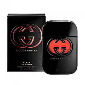 GUCCI GUILTY BLACK EDT 75 ML FOR WOMEN