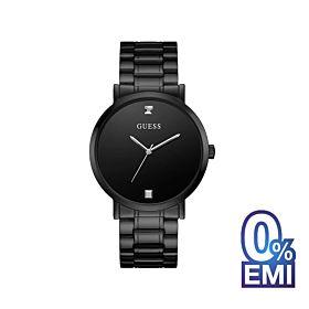 Guess U1315G3 Black Case Black Stainless Steel Men's Watch