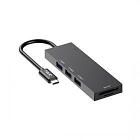 Havit HB4002 Type-C to USB Hub (2*USB 2.0 + 1*USB 3.0 + SD/TF)
