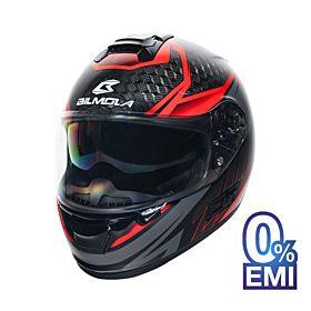 Bilmola ZILLA ST Strada Carbon Red - Black Helmet