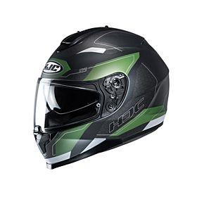 HJC C70 Canex Green MC4 Full Face Helmet