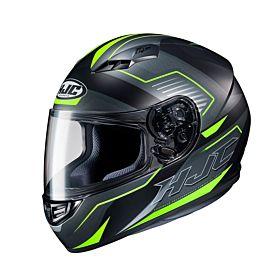HJC CS15 Trion Green MC3HSF Full Face Helmet (Clear Visor)