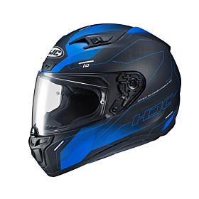 HJC i10 TAZE Blue MC2SF Full Face Helmet (Clear Visor)