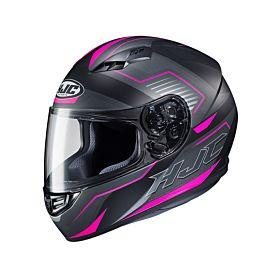 HJC i10 TAZE Pink MC8SF Full Face Helmet (Clear Visor)