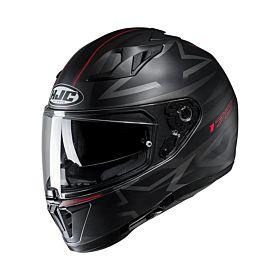 HJC i70 Cravia Black MC1 Full Face Helmet