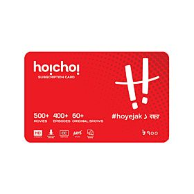 Hoichoi 2 Stream 12 Months Subscription