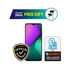 Infinix Hot 10 Play 4GB/64GB With Free UiiSii C100 Earphone