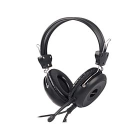 A4Tech HS30 Comfort Stereo Headphone - Black