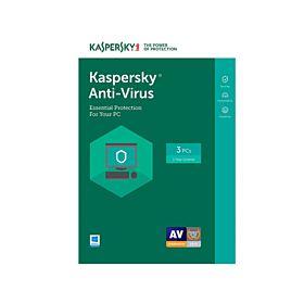 Kaspersky 3 User Internet Security 1 Year Antivirus