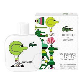 Lacoste Eau De Lacoste L.12.12 Blanc Pure X Jeremyville Collector Edition EDT 100ML for Men (3614229825923)