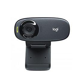 Logitech C310 HD Webcam – Black