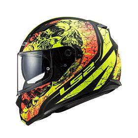 LS2 FF320 Stream Evo Throne Black Matt/Fluo Helmet