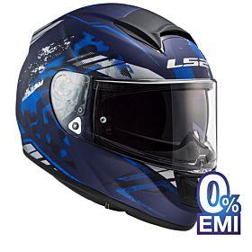 LS2 FF397 Vector Evo Stencil Helmet
