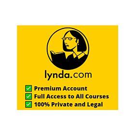 Lynda Premium Account | Full Access to All Courses