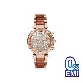 Michael Kors MK6285 Parker Rose Gold-Tone Watch For Women