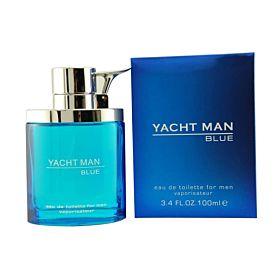 Yacht Man Blue Eau de Toilette 100ml Perfume for Men