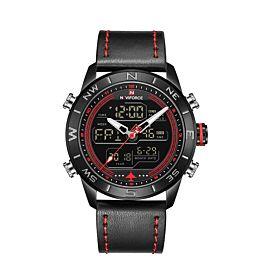 Naviforce NF9144BRB Digital & Quartz Men's Watch