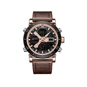 Naviforce NF9132RGRGBN Digital & Quartz Men's Watch