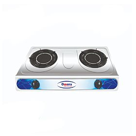 Omera ODB-219 Infrared Auto Double Burner NG Gas Stove