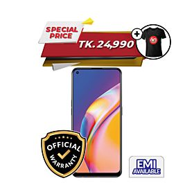 OPPO F19 Pro 8GB/128GB With Free OPPO T-shirt