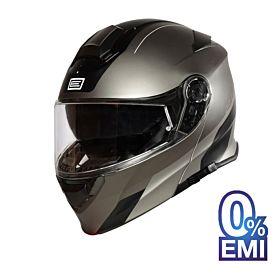 Origine Delta Division Helmets - Glossy Titanium Black (Clear Visor)