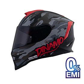 ORIGINE Dinamo Camo Helmets – Matt Grey (Clear Visor)