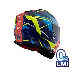 Origine Dinamo Revo Helmets – Glossy Blue (Clear Visor)