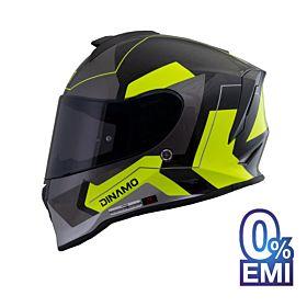 ORIGINE Dinamo Sarcro Helmets – Glossy Neon Yellow (Clear Visor)