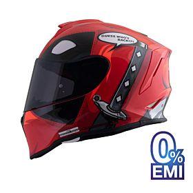 Origine Dinamo Wade Helmets – Glossy Red (Clear Visor)