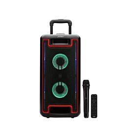 F&D PA938 1.0 Multimedia Party Speaker (80w,Usb/Sd, Bt, Fm, W. Mic, Remote)
