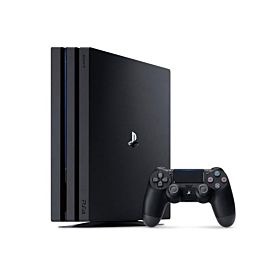 SONY PS4 Pro (PlayStation 4 Pro) 1TB 4K Gaming Console - Jet Black
