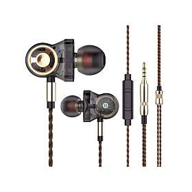 QKZ CK10 3DD 3 Dynamic Driver Stereo In-Ear Earphone