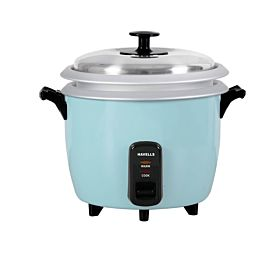 HAVELLS Reso Plus Rice Cooker 700W 1.8 Liter (M1135101735) – Sky Blue