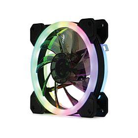 RGB 120 Silent Computer Casing Cooling Fan - Black