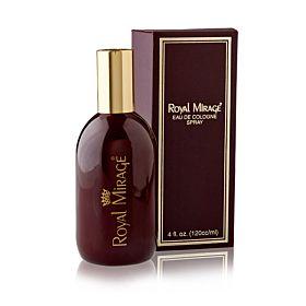 Royal Mirage Brown Eau De Cologne 120ml Classic Original Perfume for Unisex