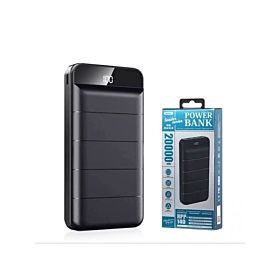 Remax RPP-140 20000mah Leader Series Power Bank - Black