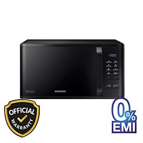 Samsung MS23K3513AK/D2 23Ltr. Solo Microwave Oven with Ceramic Enamel Cavity