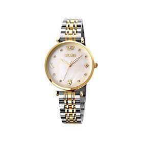 Skmei 1800GLD Rhinestone Mosaic Women's Watch