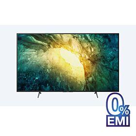 Sony X7500H 55-inch 4K Ultra HD High Dynamic Range (HDR) Smart TV