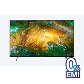 "Sony X8000H 55"" 4K Ultra HD High Dynamic Range (HDR) Smart TV"