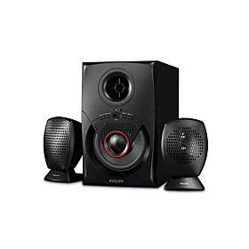 PHILIPS MMS2020F 12W 2.1 Multimedia Speaker System