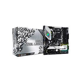 ASROCK B550M STEEL LEGEND AMD B550 Chipset AMD Ryzen Motherboard