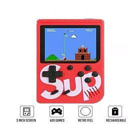 Sup X Game Box Built-In 400 Classic Games Retro Handheld Game Console Emulator