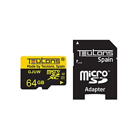 Teutons 64GB microSD Memory Card With Adapter