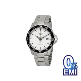 Tissot V8 T1064071103100 Automatic Silver Dial Men's Watch