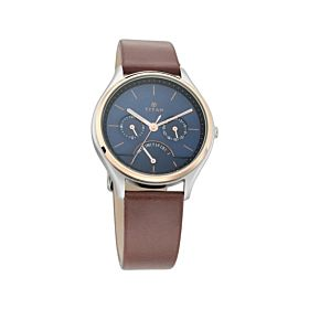 TITAN NM1803KL01 Workwear with Blue Dial & Leather Strap Men's Watch